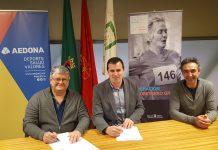firma convenio AEDONA INDJ programa de ejercicio físico y salud para mayores de 60 años