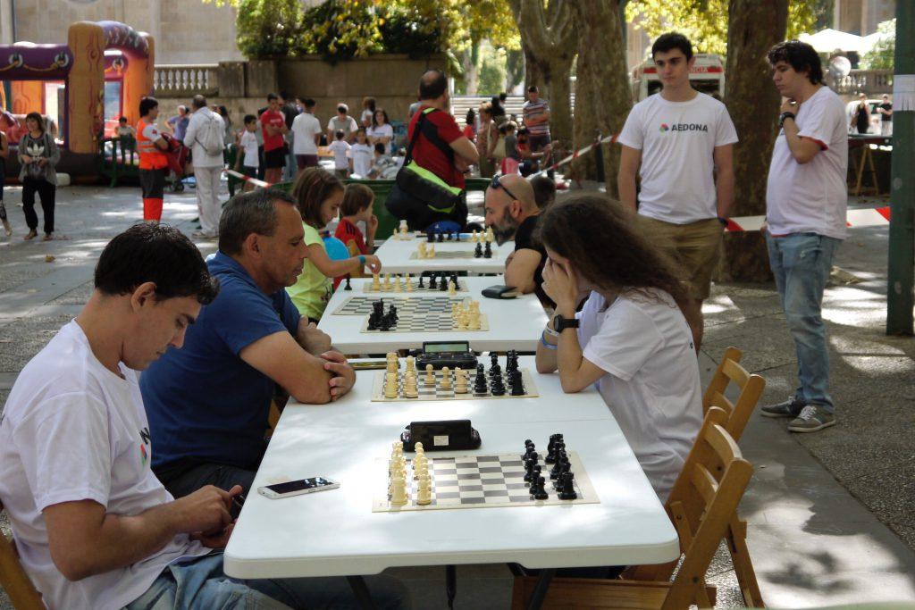 1ª Jornada de Deporte y Salud en Familia de AEDONA Pamplona