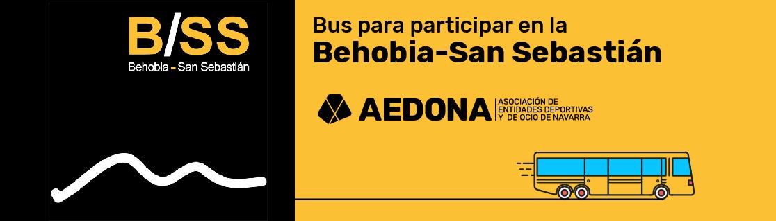 Bus AEDONA Behobia-San Sebastian