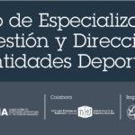 II Curso de Especialización en Gestión y Dirección de Entidades Deportivas