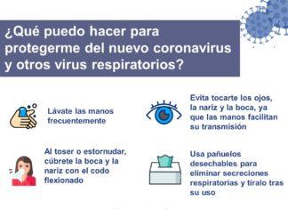 recomendaciones prevención coronavirus aedona