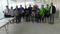 Ganadores del III Torneo de Pádel Mixto AEDONA