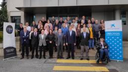 Presentación del Reto Solidario Fundación Diario de Navarra, Obra Social la Caixa y AEDONA
