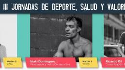 Ruth Beitia, PicSil e Iñaki Domínguez, primeros ponentes de las III Jornadas de Deporte, Salud y Valores