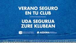 Imagen destacada Lanzamos la campaña Verano seguro en tu club